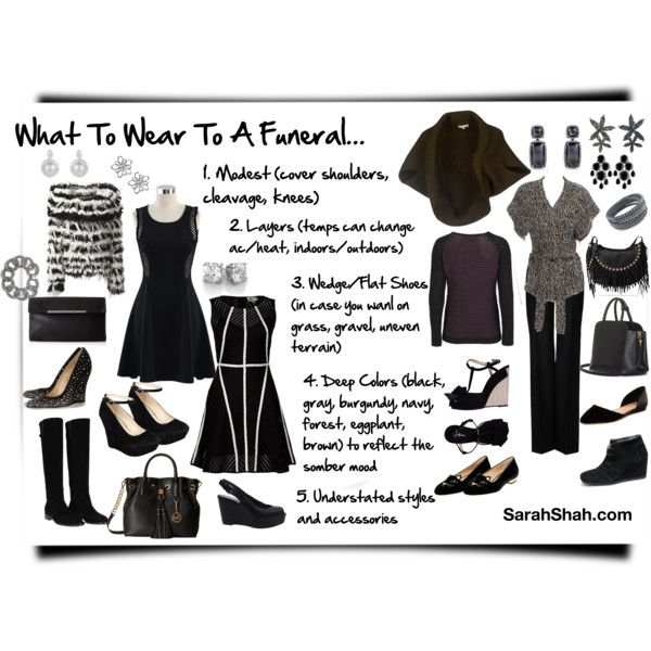 How To Dress For A Funeral Woman