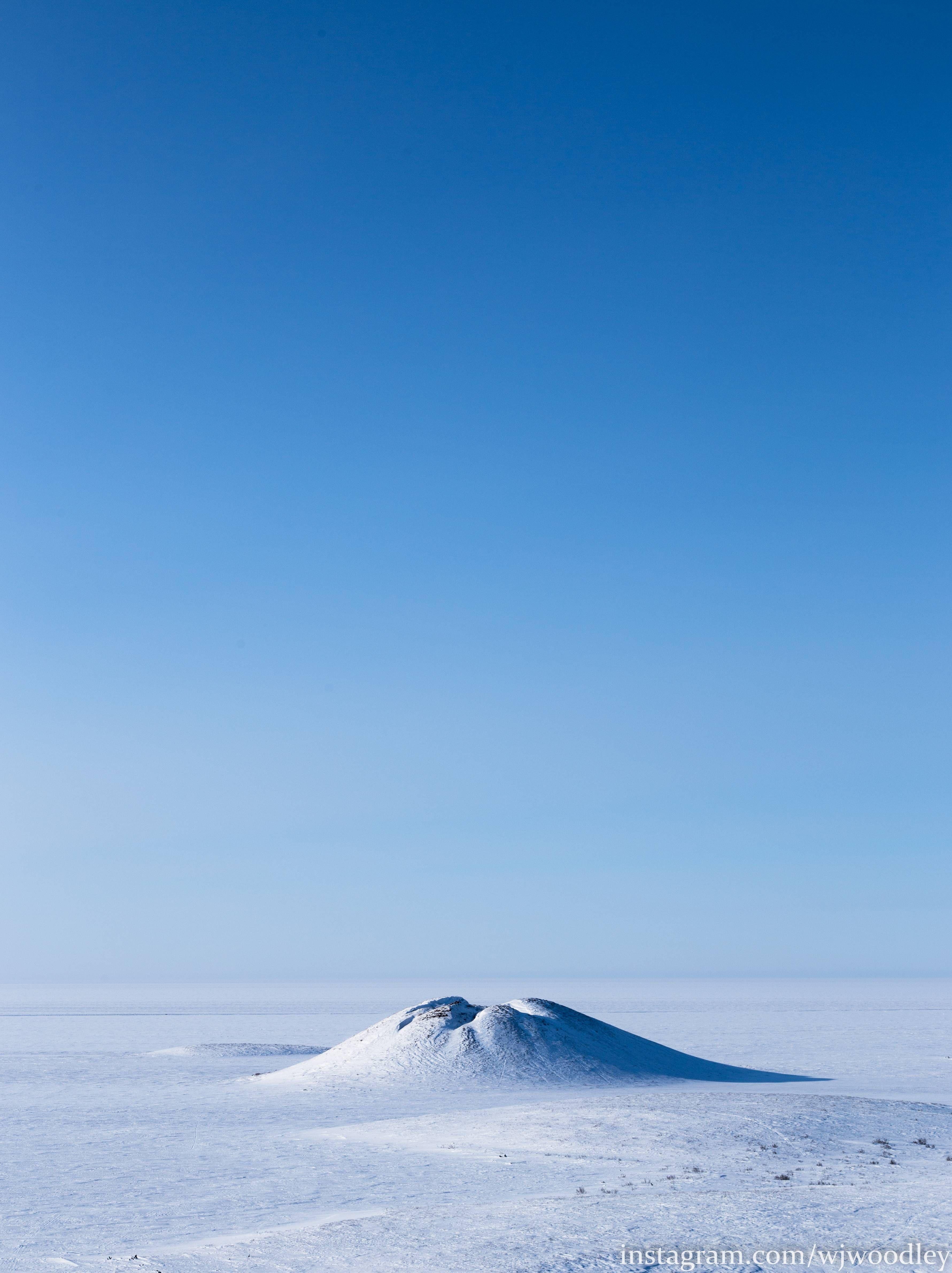 Pingo National Landmark Tuktoyaktuk Canada [OC] [3562x4762]