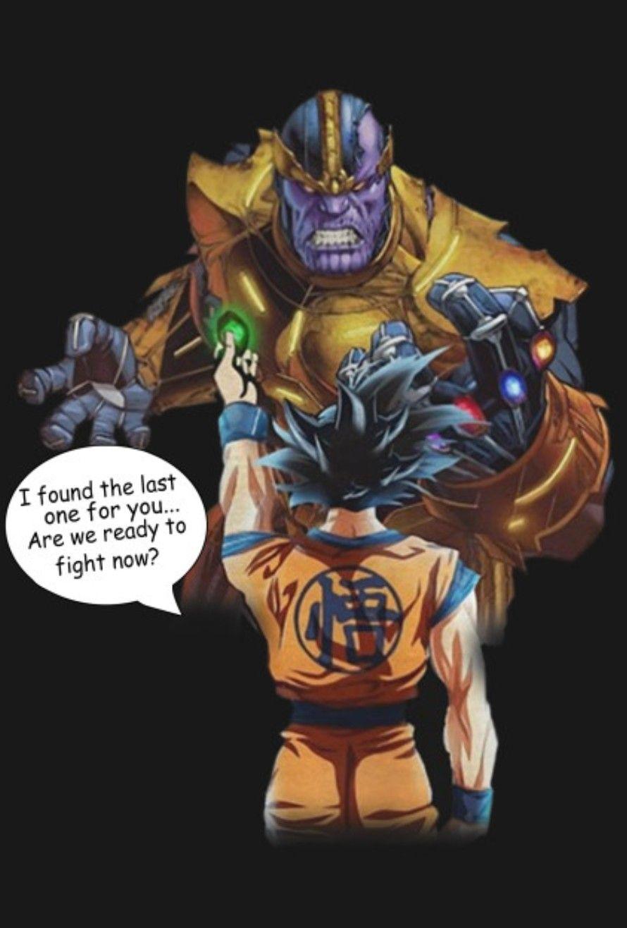 Goku Vs. Thanos, Dragon Ball Super | Dragon Ball Z ...