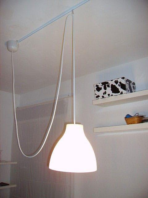 Inspiration: Movable Pendant Light Hack