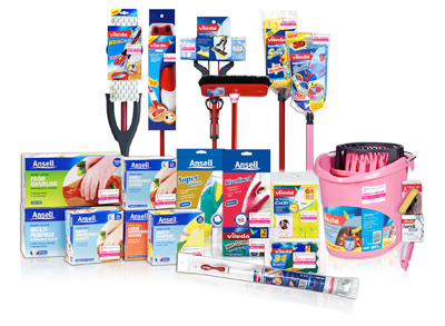 Clean Up Spills With A Vileda SuperMocio Mop And Bucket Refills Or Sweep Your Home Broom Ansell Also Offers Full Range Of