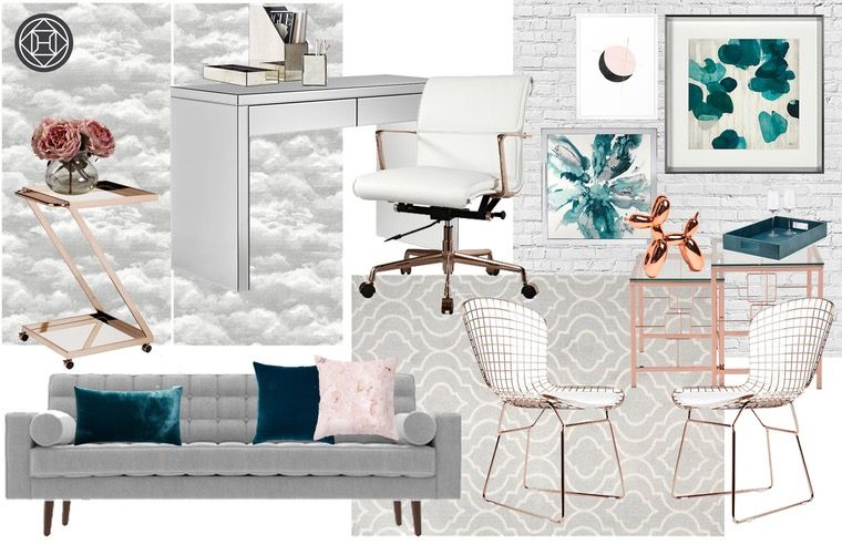 Best Contemporary Glam Midcentury Modern Design By Havenly 640 x 480