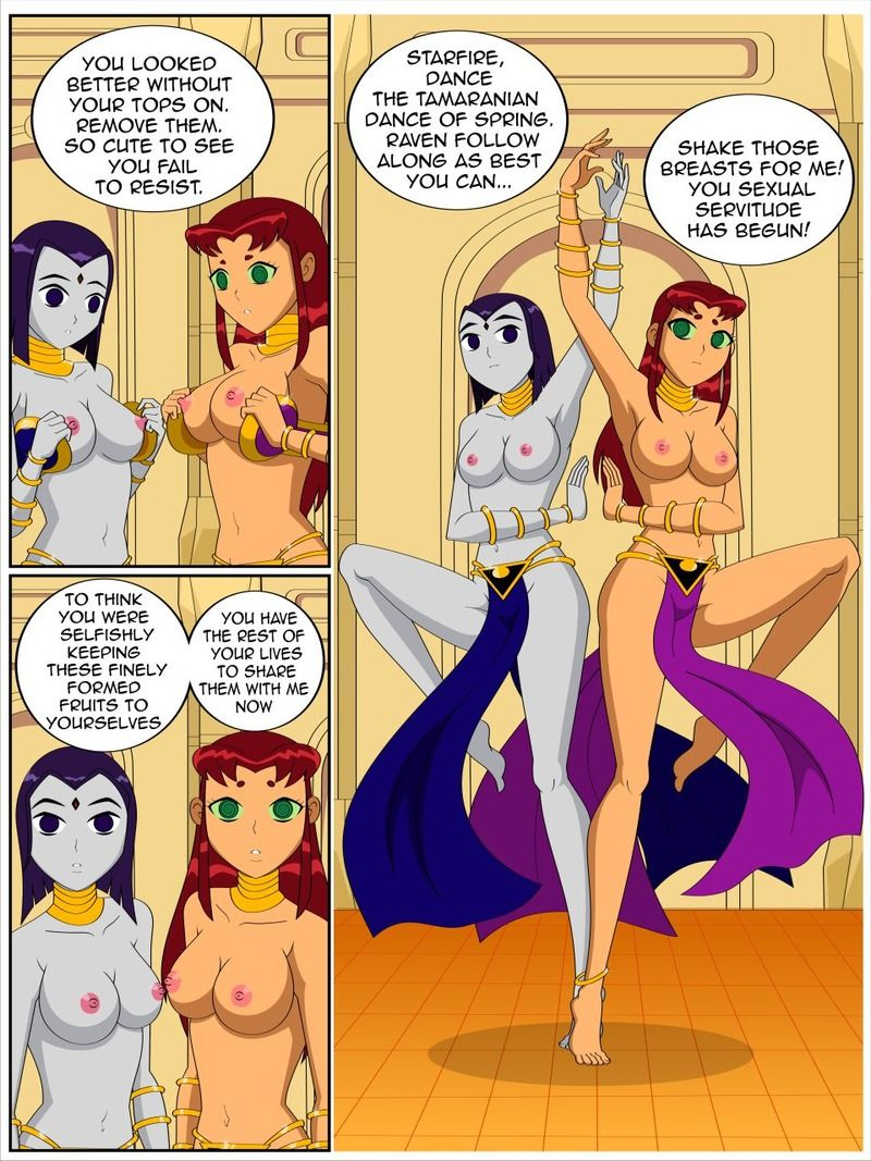 That would Raven and starfire porn collection casually