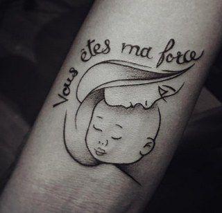 80 Tatouages De Mamans Qui Ont Leur Bebe Dans La Peau Tattoos