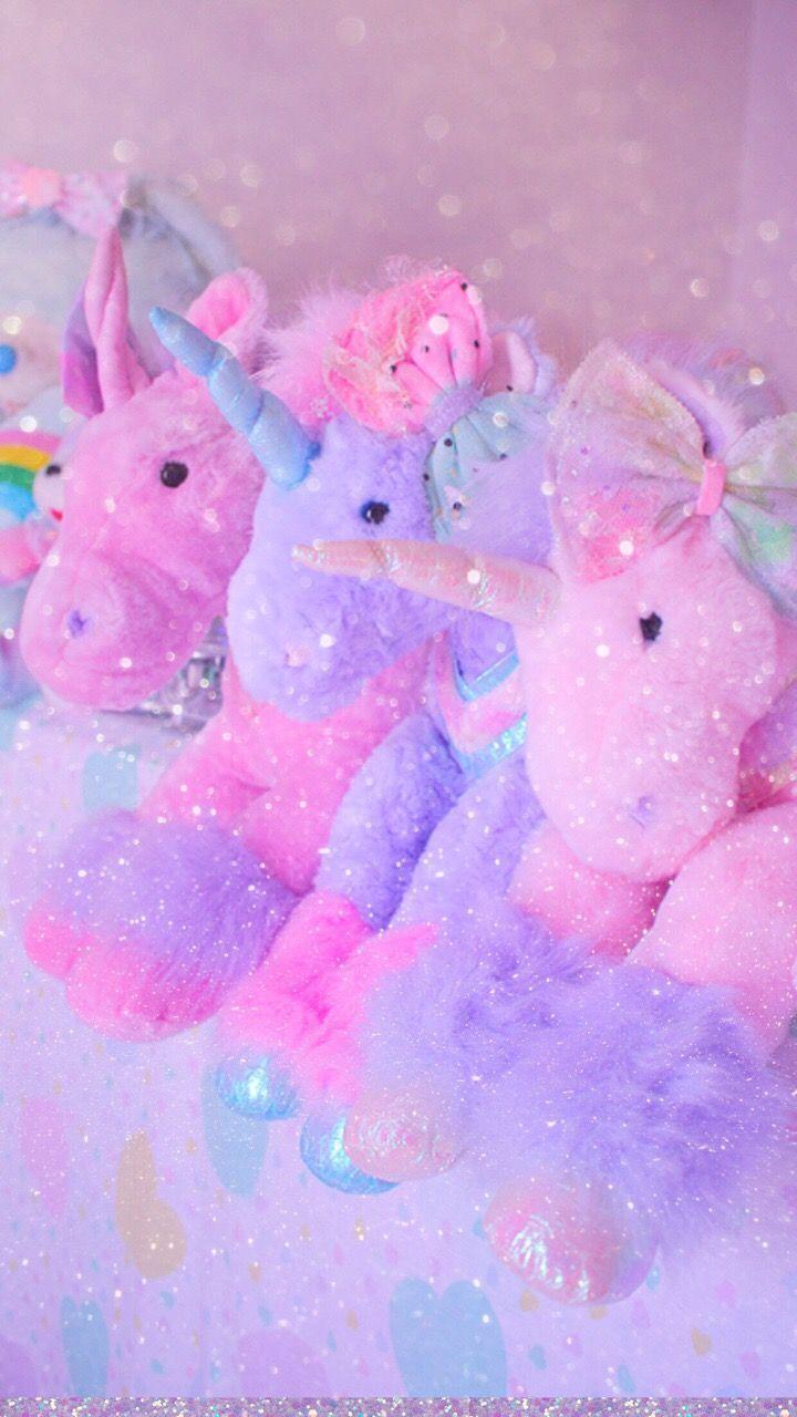 Pink Unicorn Plush Aesthetic Pastel Wallpaper Unicorn Wallpaper Unicorn Pictures