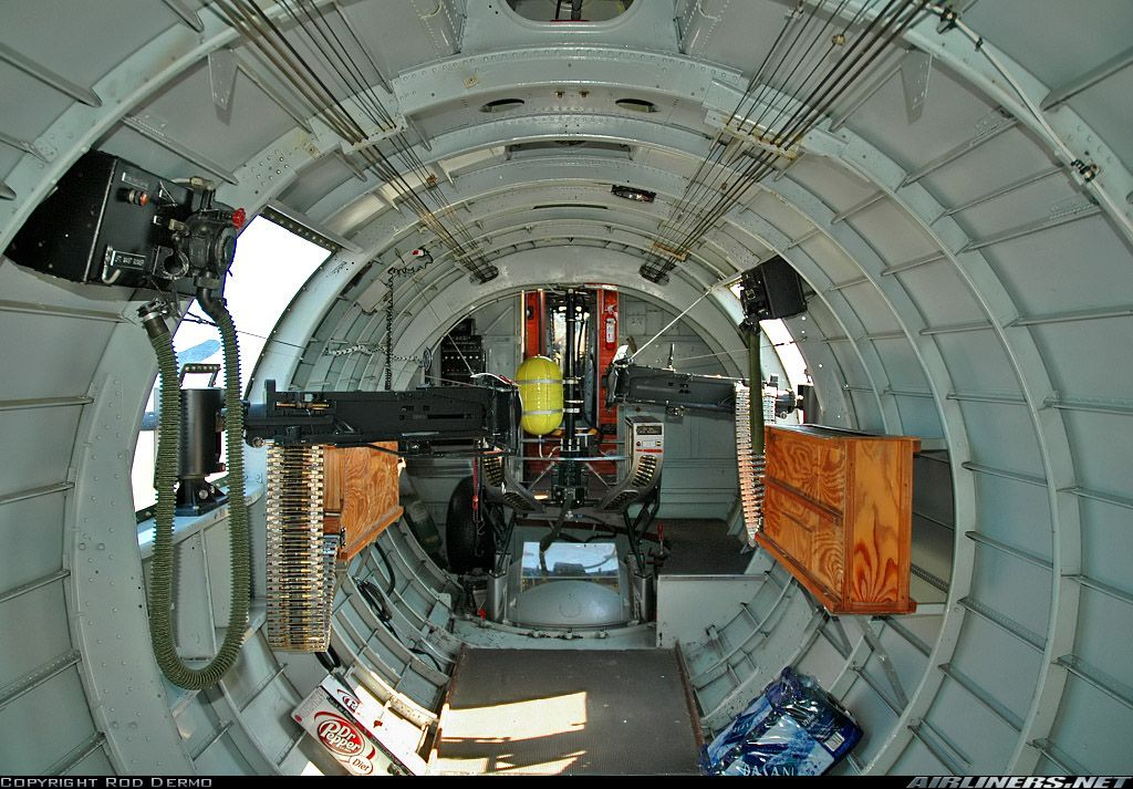 Inside of Boeing B-17G Flying Fortress! Awesome!