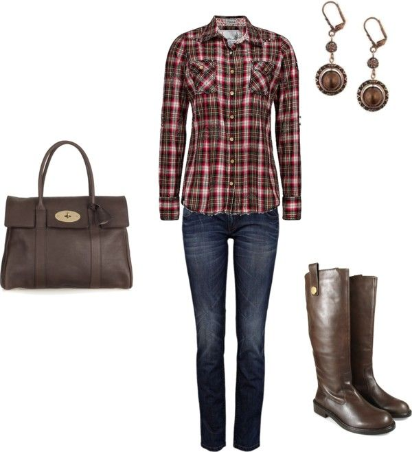 """Fall Outfit"" by clbussie on Polyvore"