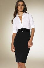 Classic white shirt | Dress code for Exhibition staff | Pinterest ...