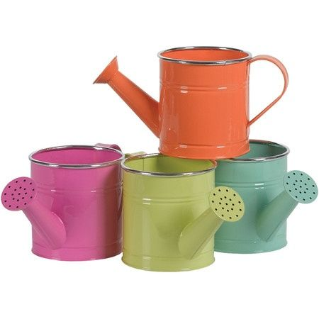 4 piece Cabo Watering Can Set