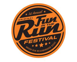 Fun In The Run Logo By Levelb Logo Design Trends Identity Design Logo Retro Logo Design