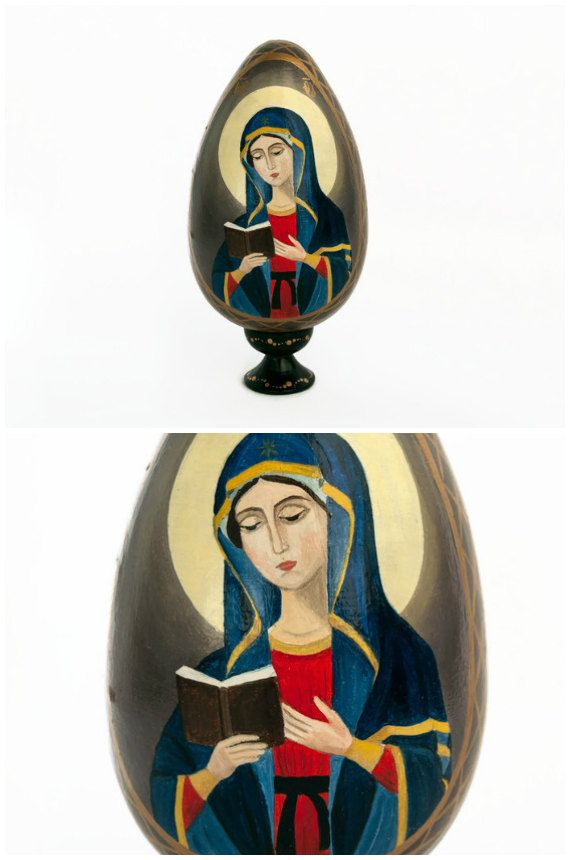 Easter eggs easter decoration easter gift for mom grandma gift easter eggs easter decoration easter gift for mom grandma gift sister grandparent gift virgin mary mother mary mothers day gift hostess gift negle Gallery