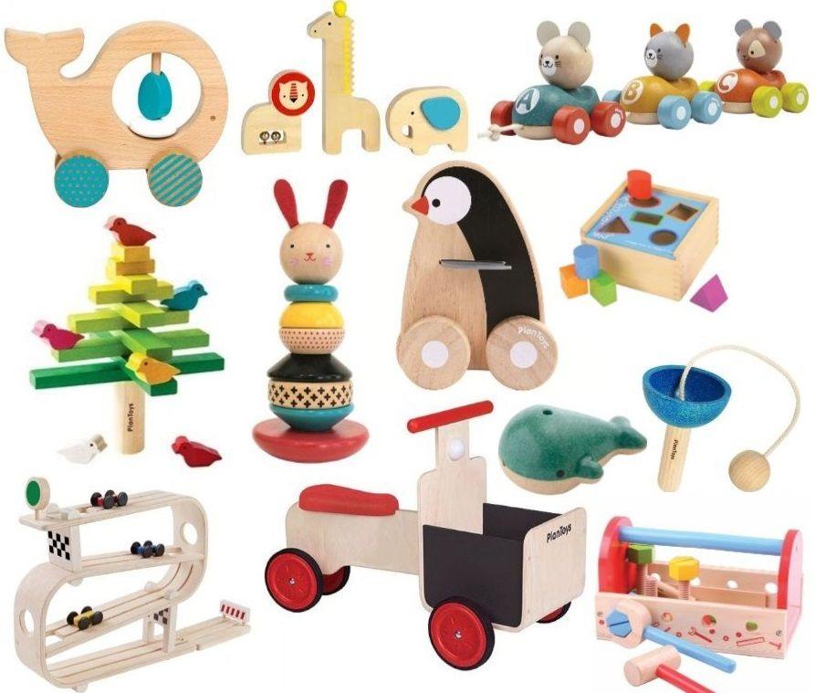Een Selectie Van Ons Duurzame Houten Houten Speelgoed Voor