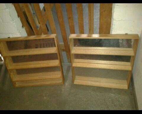 2 x Regale Holz Setzkasten Kinder Spiegelfolie 60 x 60 cm, 25 - badezimmer 60 cm