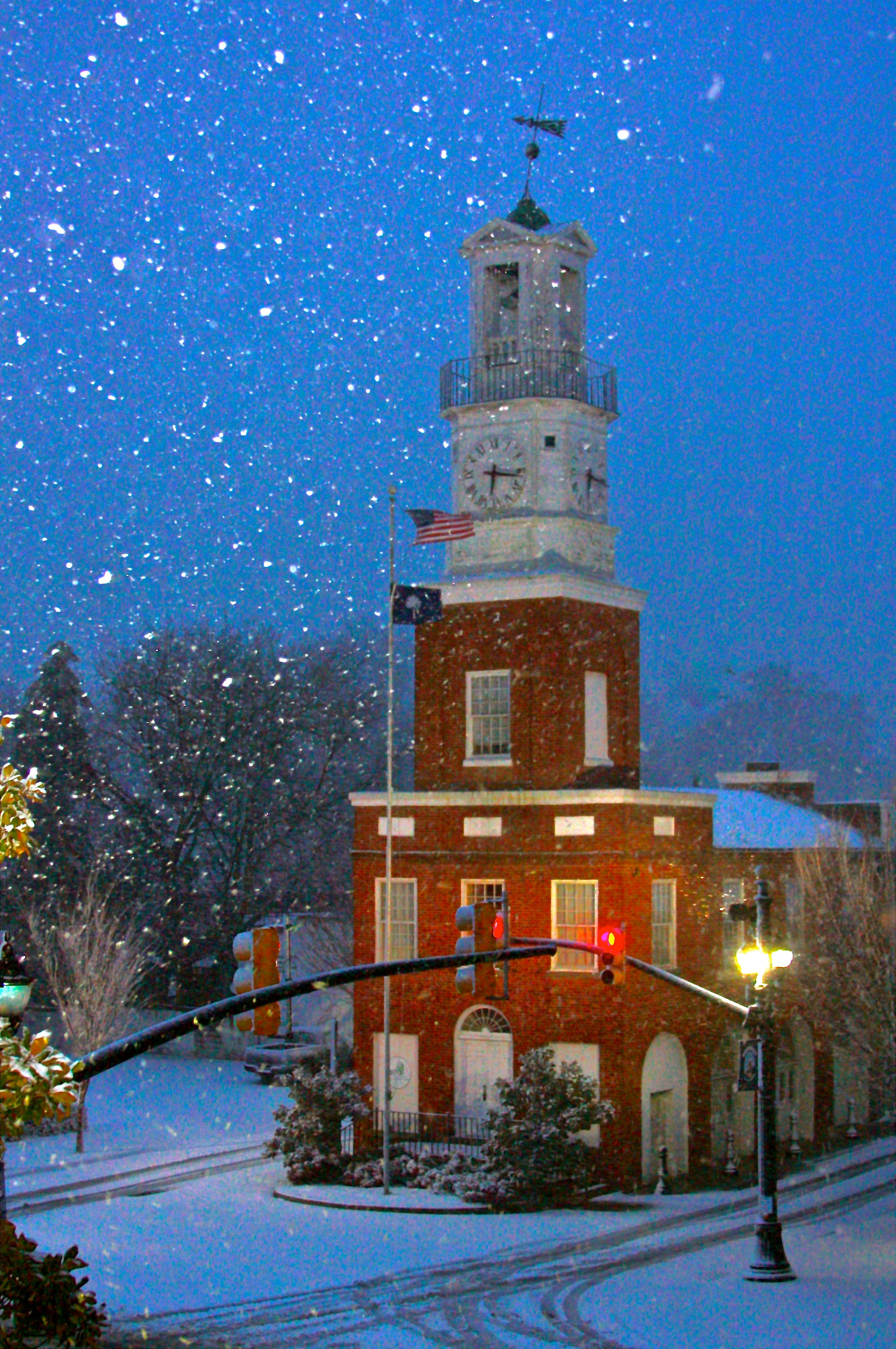 Town Clock Winnsboro Sc Oldest Running Clock In The United States Winnsboro South Carolina America Travel