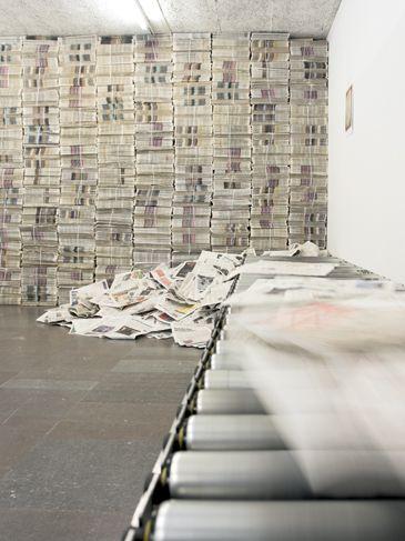 Gustav Metzger Decades 1959 2009 Installation Art Wall Paul Klee