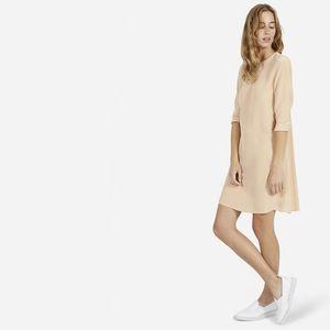 The Silk Long-Sleeve Dress - Everlane