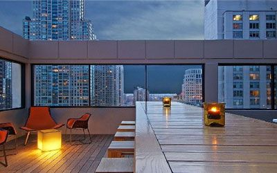 Vertigo Sky Lounge, Dana Hotel - Perhaps Chicago's best ...
