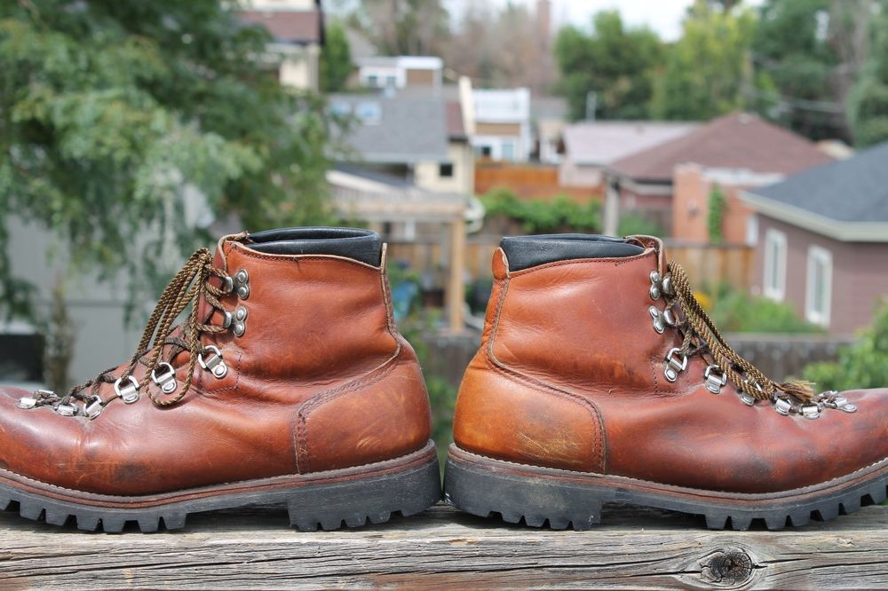 34f05d5a656 Vtg. Men's RED WING IRISH SETTER HIKING MOUNTAINEERING BOOTS 11 1/2 ...