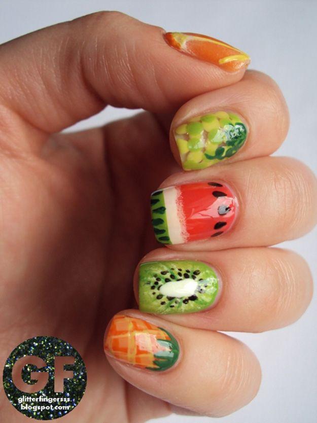 Easy Nail Art Designs Pinterest