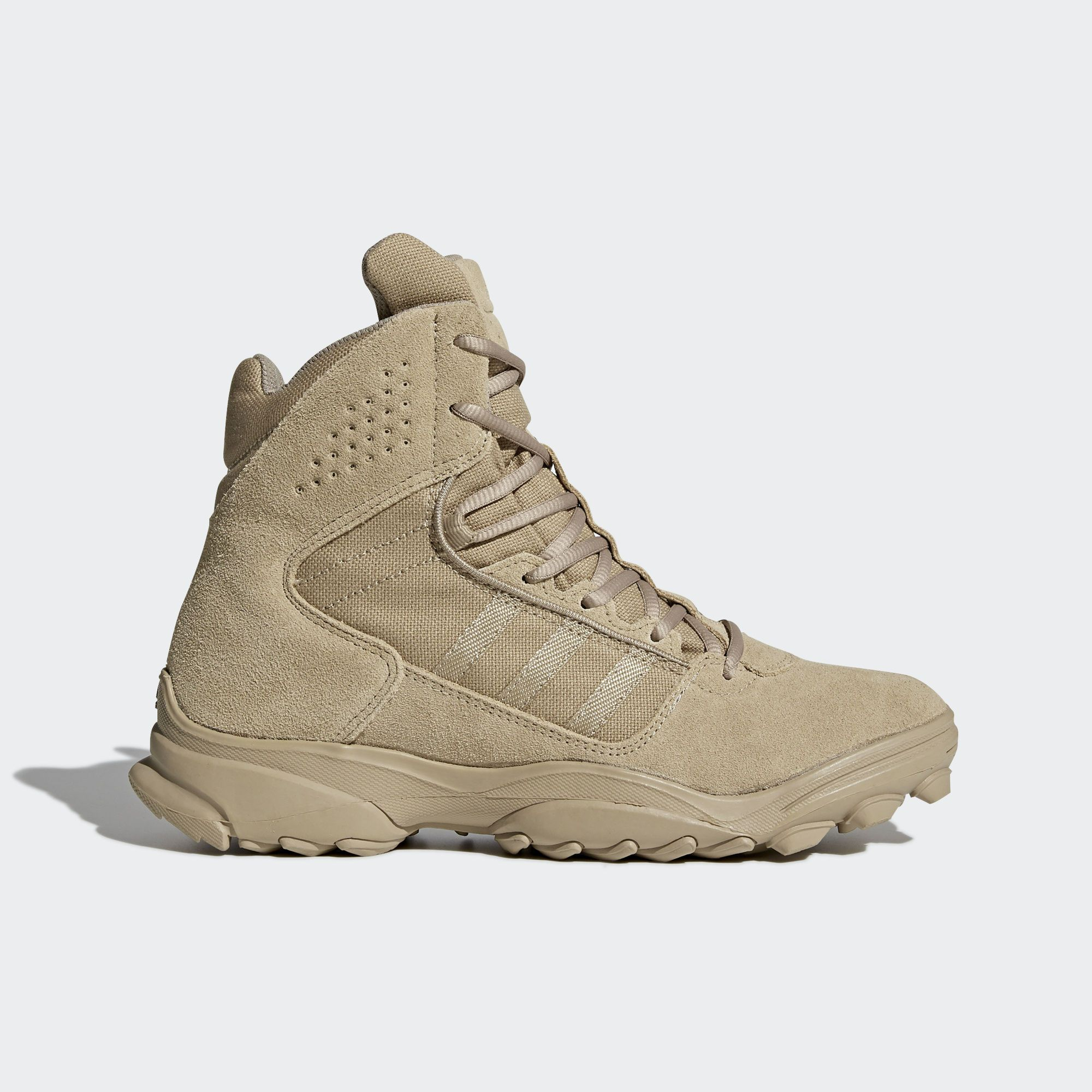 These Men S Boots Come With The Rugged Features Of An Outdoor Boot And The Comfort And Performance Of An Athletic Shoe Adidas Boots Boots Adidas Hiking Shoes