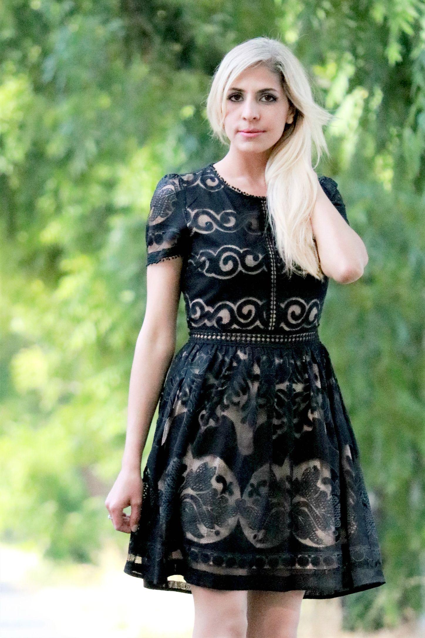 Classic noir lace dress forever dolledup boutique pinterest
