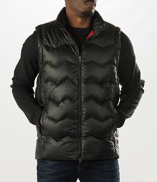 da1f770535916 Mens Nike Air Jordan Flight Hyperply Puffer Vest, Black 682805 ...