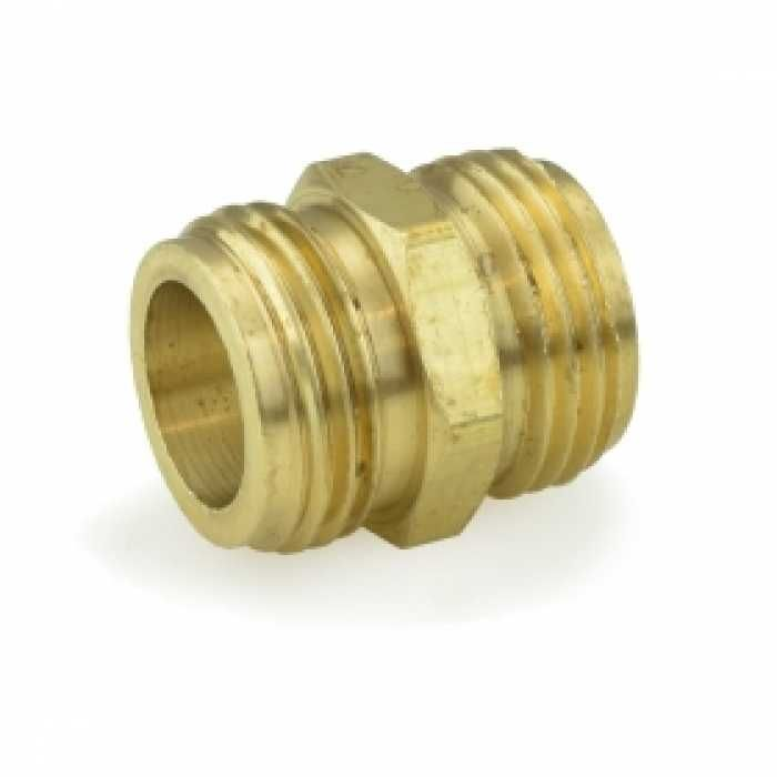 3 4 Mgh X 3 4 Mgh Tapped 1 2 Fip Brass Coupling Lead Free Brass Fittings Copper And Brass Lead Free