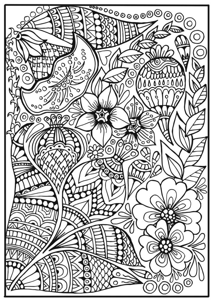 Coloring Free Pages Picture Book