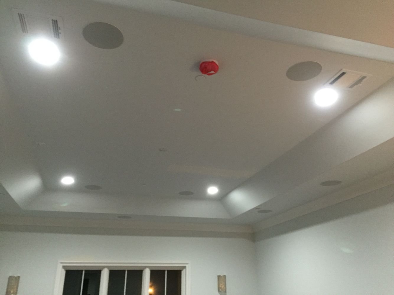 Dolby Atmos Configuration In A Media Space Eleven In Ceiling