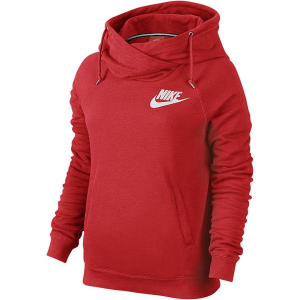 Nike Rally Funnel Neck Pullover Women s Hoodie. Nike.com ( 65) ❤ liked f3beed6abd