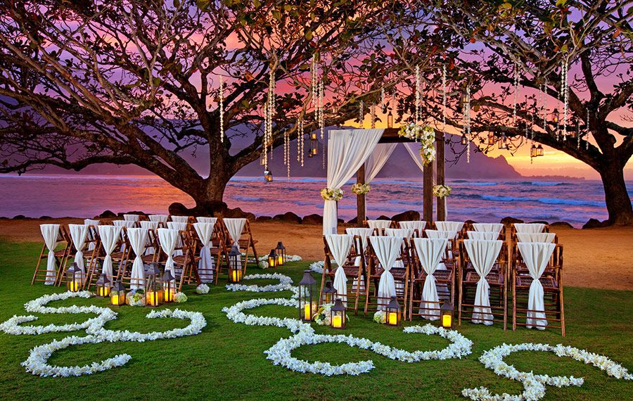 St. Regis Princeville Wedding location in Kauai, Hawaii
