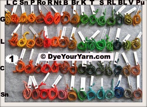 Dye yarn with Wilton Icing Dye  FreshStitches  Dyeing
