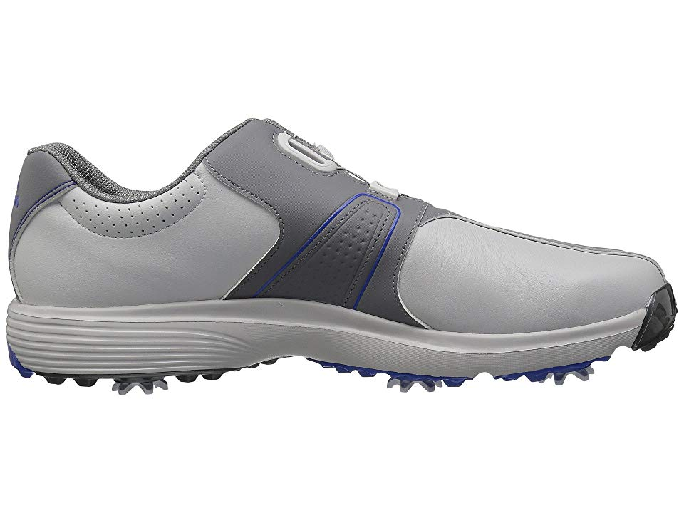 low priced 2834c d6847 adidas Golf 360 Traxion Boa Mens Golf Shoes Grey OneGrey ThreeHi-