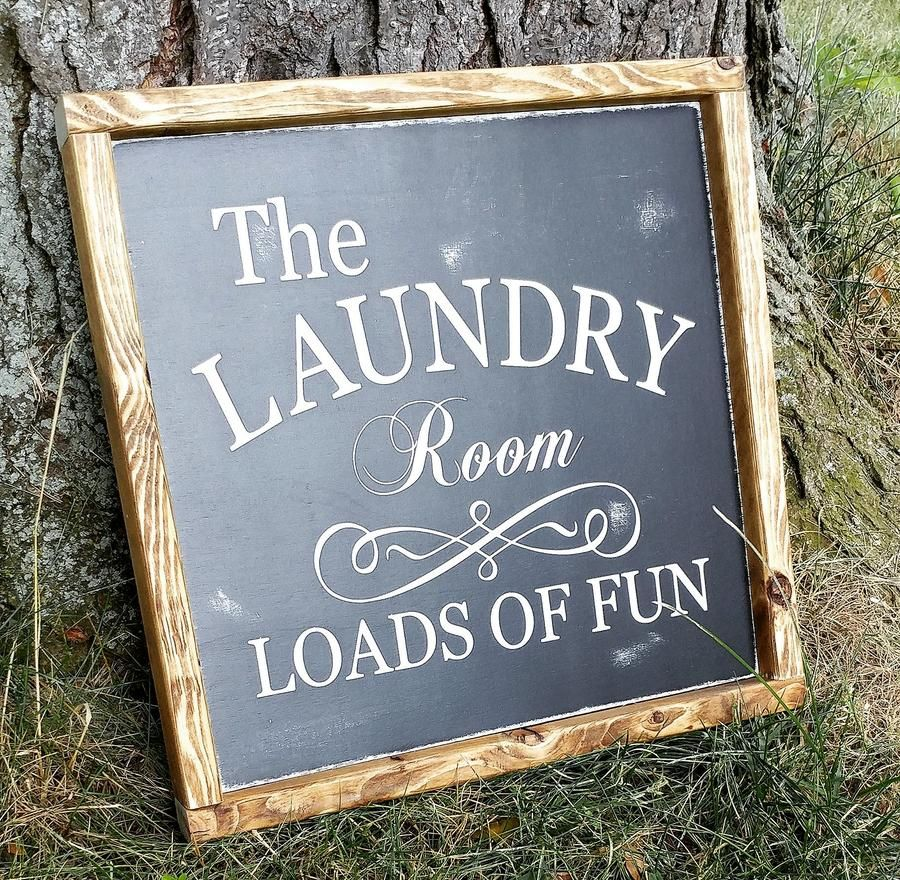 Laundry room, Loads of fun