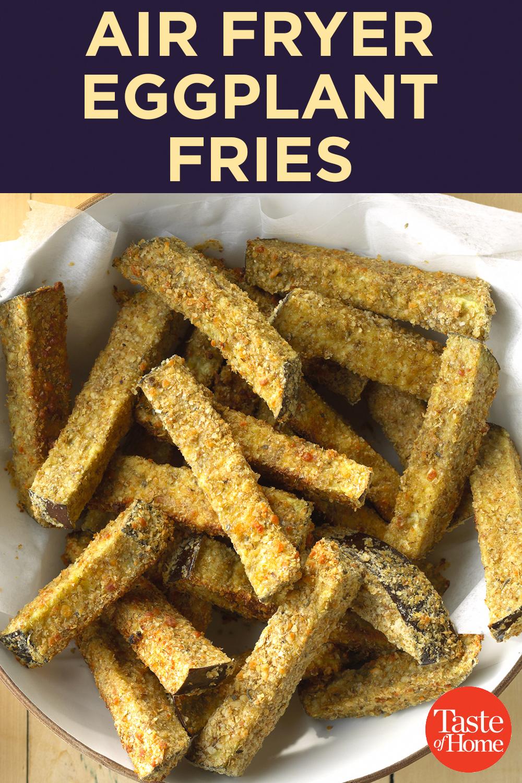 AirFryer Eggplant Fries Recipe Eggplant fries, Air