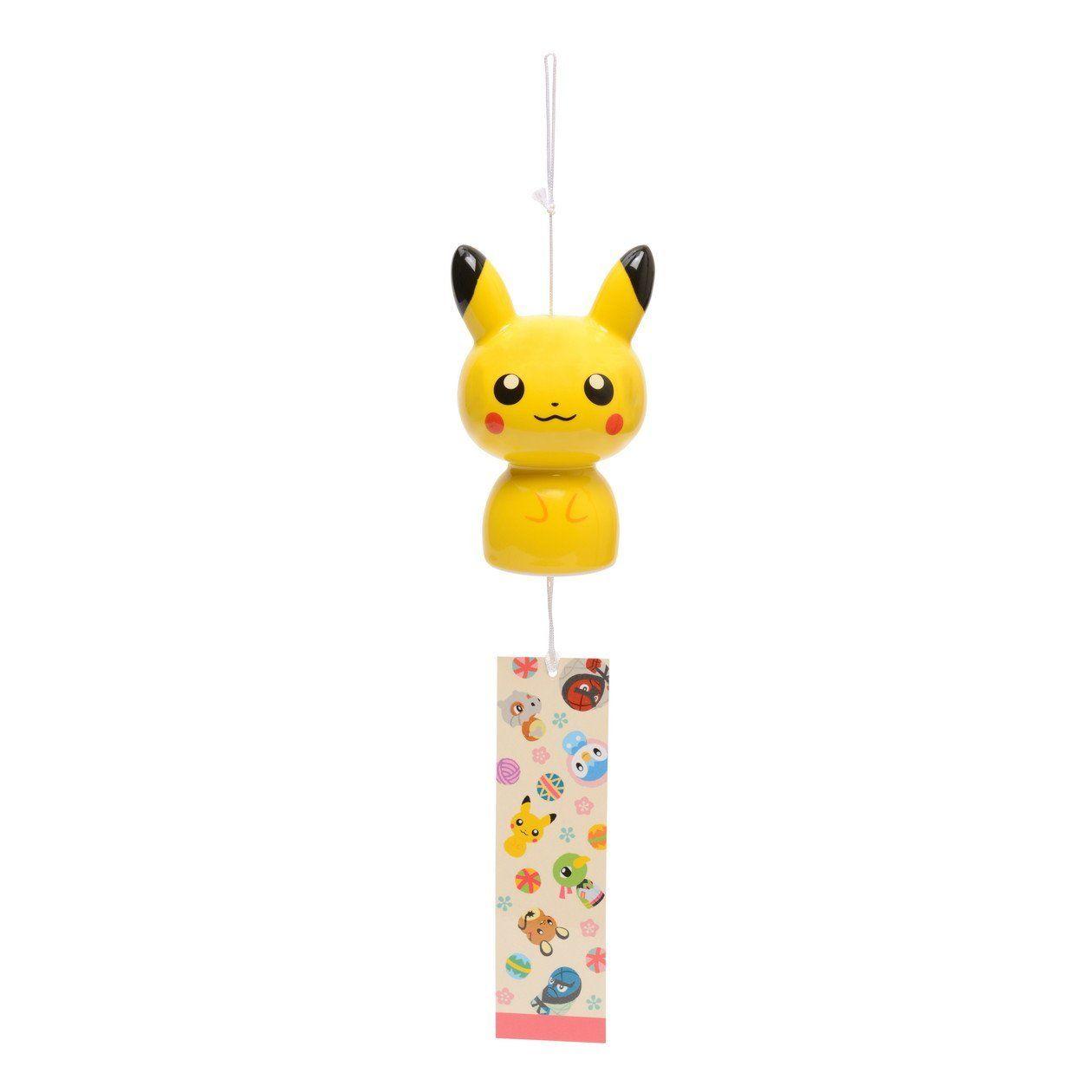 amazon | ポケモンセンターオリジナル 風鈴 ピカチュウこけし | おもちゃ