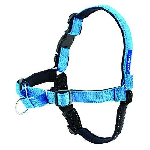 PetSafe Easy Walk Deluxe Harness, Large, Ocean Blue Easy