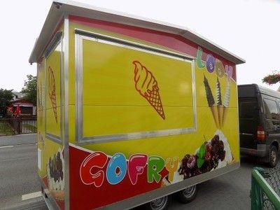 Nowa Przyczepa Gastronomiczna Lody Biznes Komplet 6699945590 Oficjalne Archiwum Allegro Toy Chest Storage Chest Decor