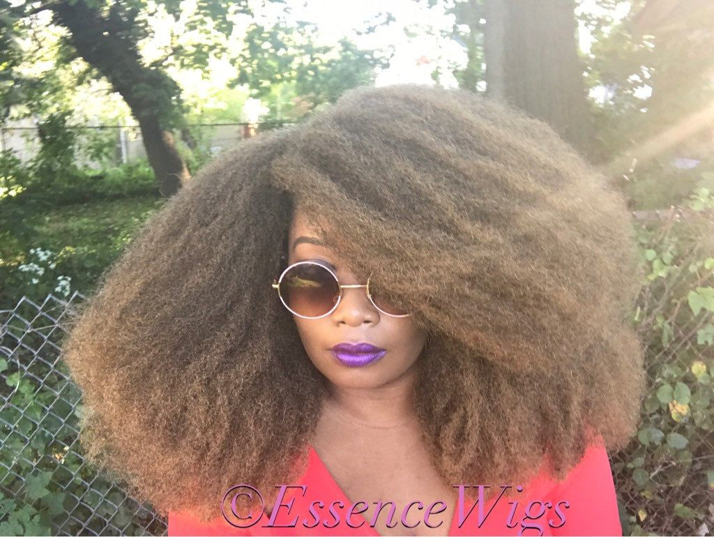 Nubian queen afro hair by essence wigs blonde hair u wigs by