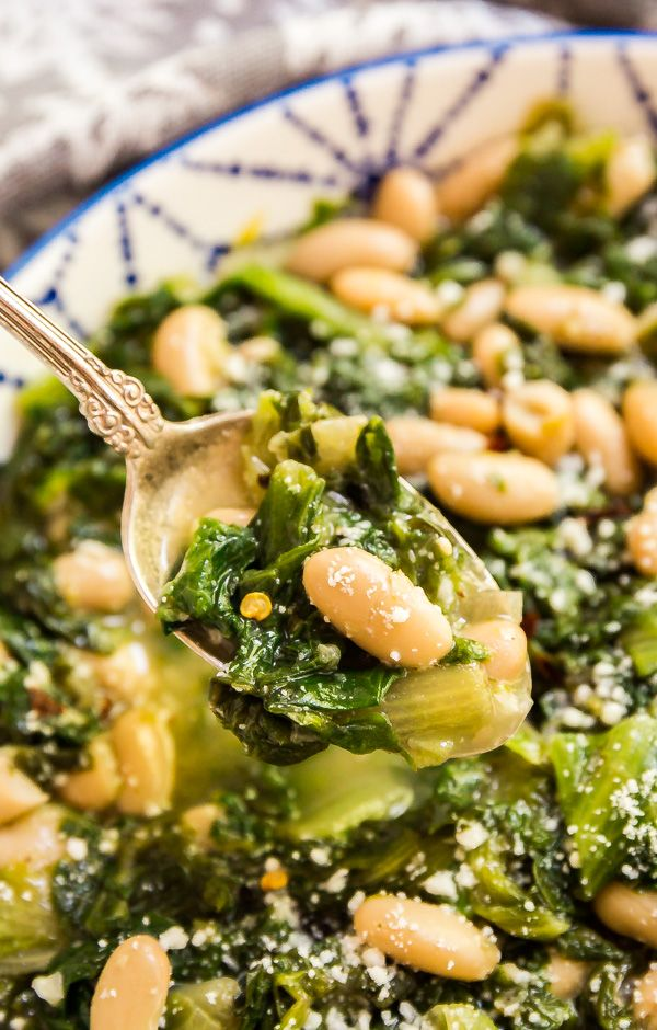 Greens and Beans images