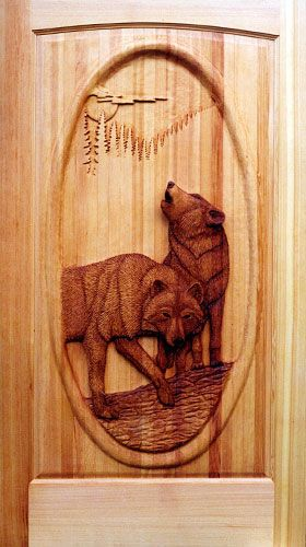 Wolf pair & Wolf pair | Wildlife Wood Carvings | Pinterest | Wolf and Wood carving