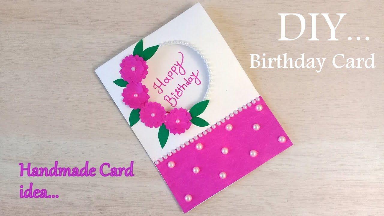 How to make Birthday Special Card.. DIY Birthday Greeting Card