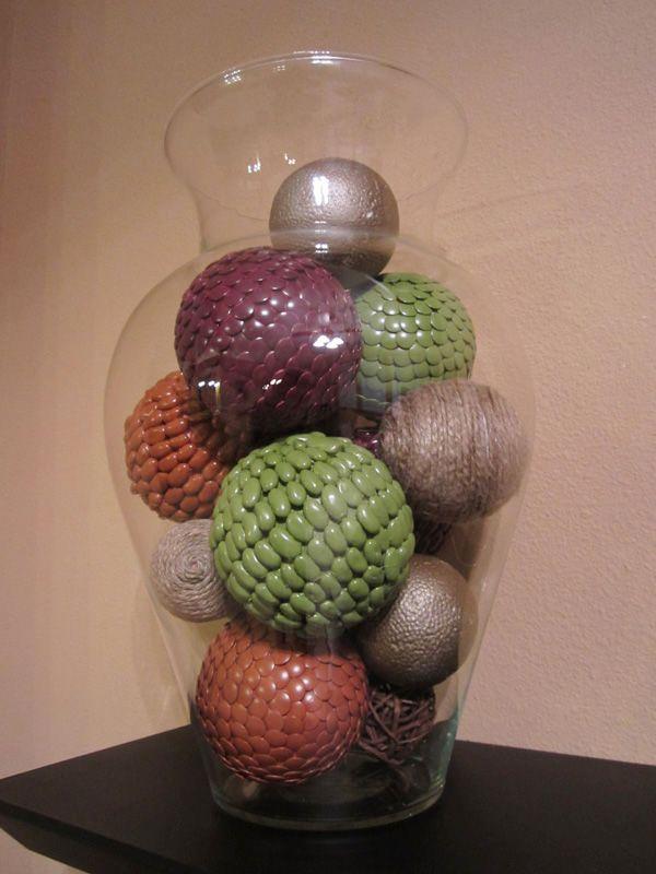 Decorative Balls For Vases Little House On The Corner Shelf Display #1 Diy Decorative Vase