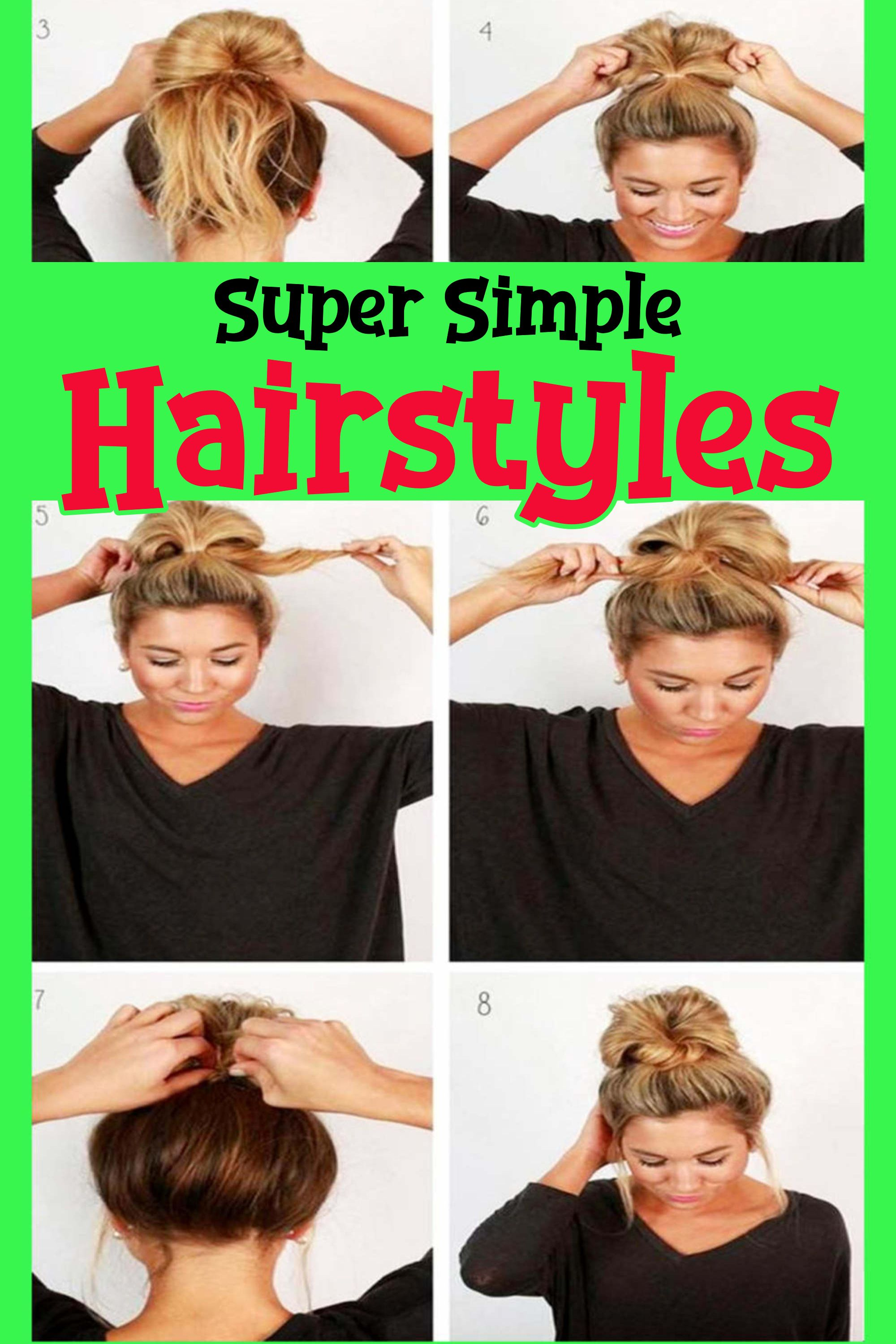 10 Easy Lazy Girl Hairstyle Ideas Step By Step Video Tutorials For Lazy Day Running Late Quick Hairstyles Clever Diy Ideas Lazy Girl Hairstyles Diy Hairstyles Easy Running Late Hairstyles