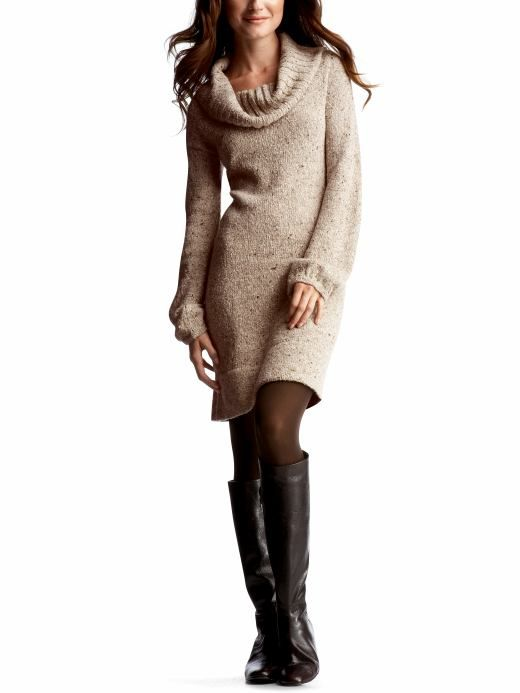 4c90bf0188898 Style Guide: How to wear sweater dress? | fashion- my style | Cowl ...