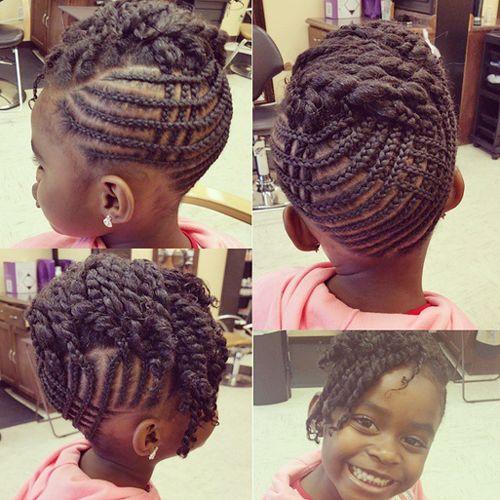 Childrens Hairstyles For School In : Childrens braids black hairstyles 22