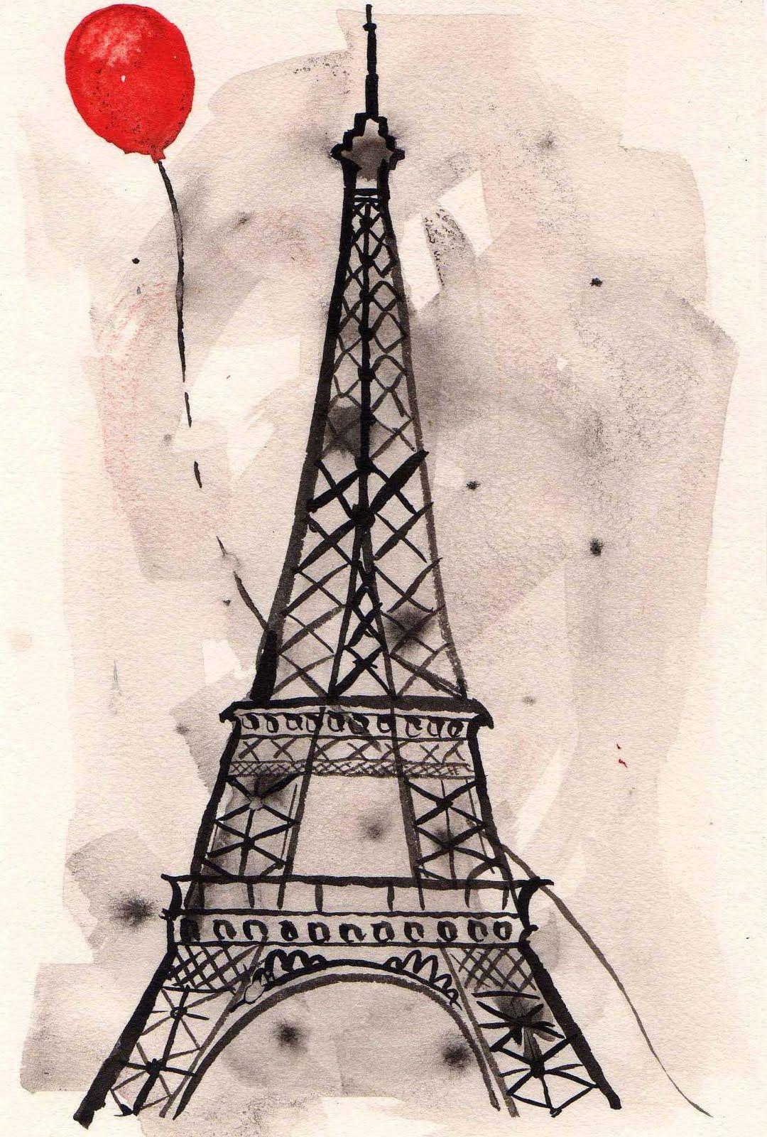 Lobster Served Paris Art Eiffel Tower Eiffel Tower Drawing