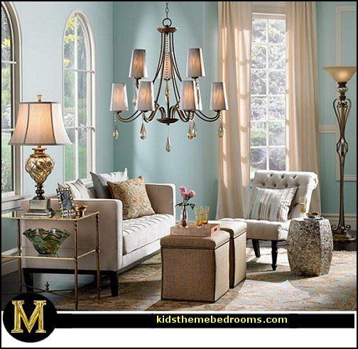 Old Hollywood Glamour Decor Manor Glam Living