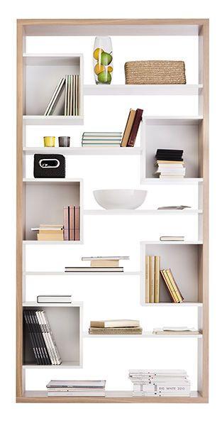 Biblioteca moderna de madera londra sba baldu for Minar muebles