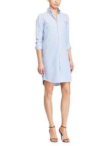 88c5936c Knit Oxford Shirtdress - Polo Ralph Lauren Short - RalphLauren.com ...